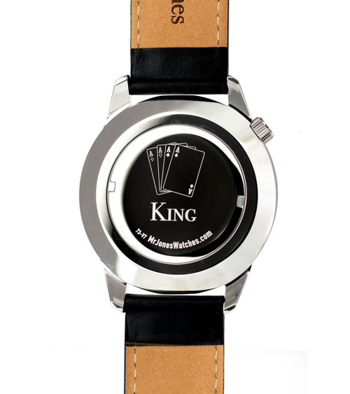 Mr. Jones King XL Jump Hour Automatic 45mm (73-X8)