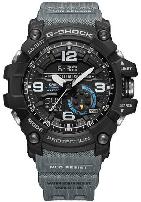 G-Shock GG1000-1A8 Mudmaster Black Gray (GG1000-1A8)