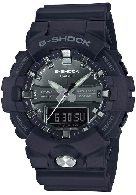 G-Shock GA-810 Anadigi Black Silver (GA810MMA-1A)