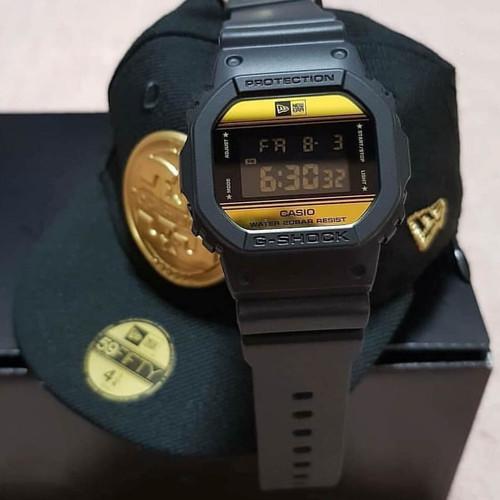 G-Shock DW5600 New Era Limited Edition Black Gold (DW5600NE-1)