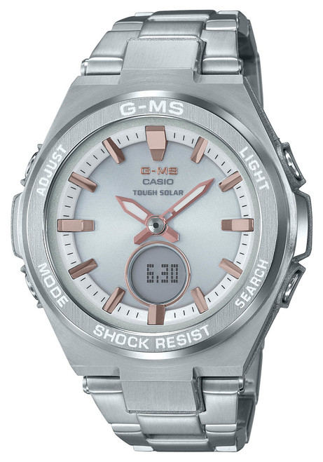 G-Shock G-MS Solar Silver (MSGS200D-7A)