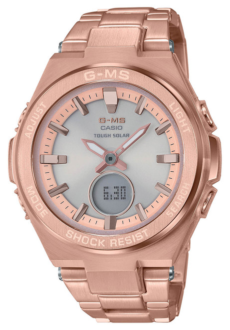 G-Shock G-MS Solar Rose Gold (MSGS200DG-4A)