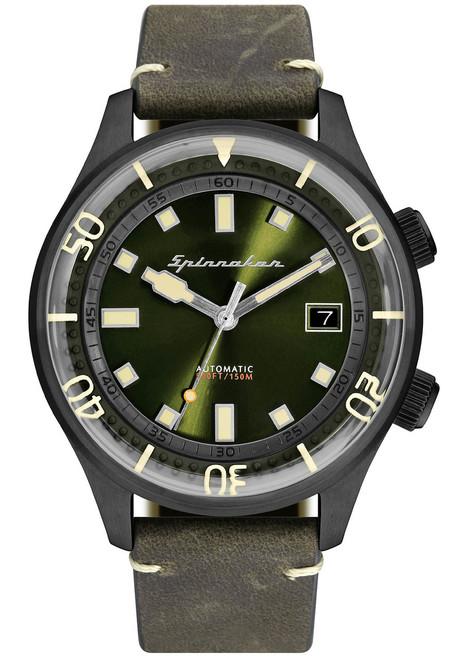 Spinnaker Bradner Green Black (SP-5057-04)