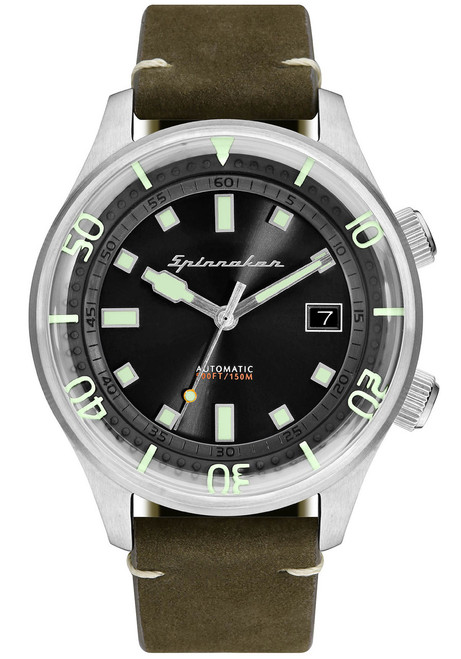 Spinnaker Bradner Silver Green (SP-5057-02)