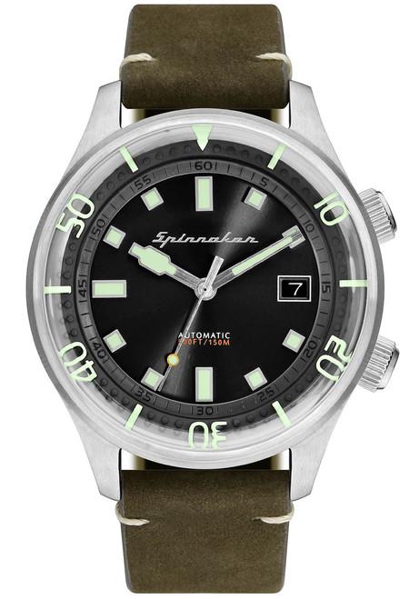 Spinnaker Bradner Silver Green (SP-5057-02)