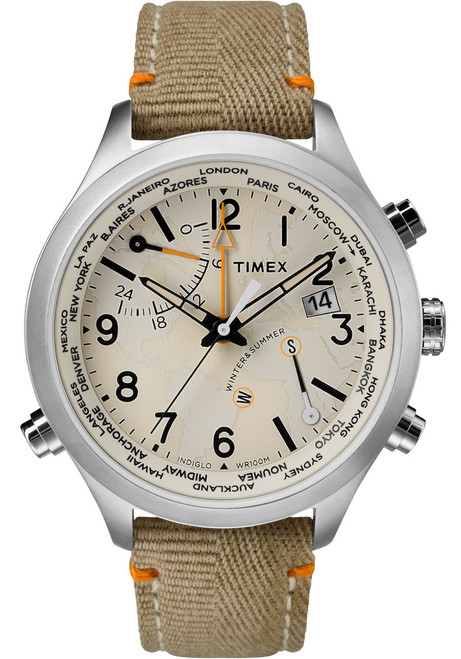 Timex Waterbury World Time Sand (TW2R43300)