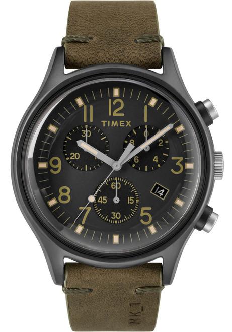 Timex MK1 Steel Chrono Gunmetal Olive (TW2R96600)