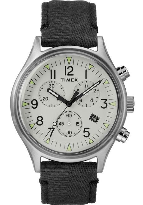 Timex MK1 Steel Chrono Silver Black (TW2R68800)