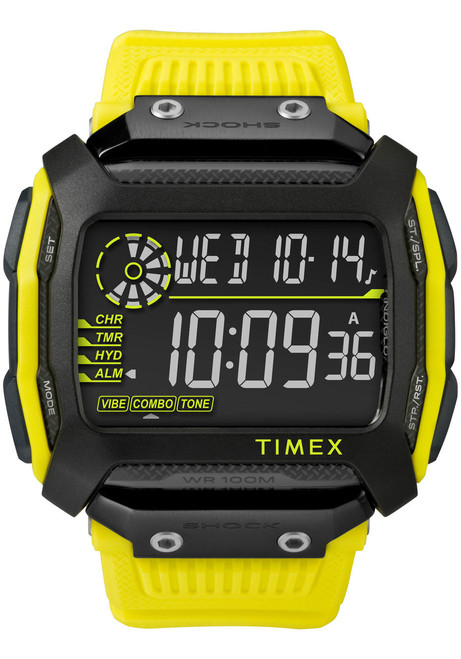 Timex Command Shock Digital Black Yellow (TW5M18500)