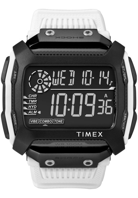 Timex Command Shock Digital Black White (TW5M18400)