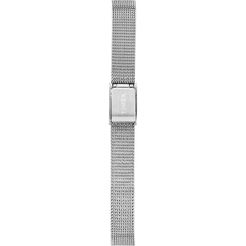 Timex Milano Oval 24MM Silver Mesh (TW2R94200)