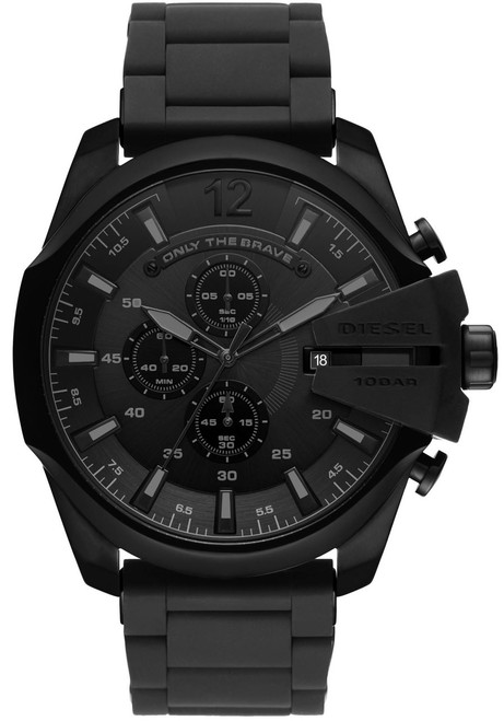 Diesel Mega Chief Chrono All Black SS (DZ4486)