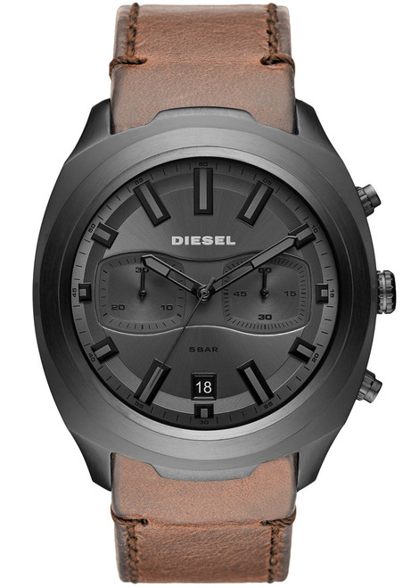 Diesel Tumbler Chrono Gunmetal Brown (DZ4491)