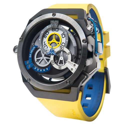 Mazzucato RIM Reversible Automatic Yellow Blue (RIM-06-YL654)