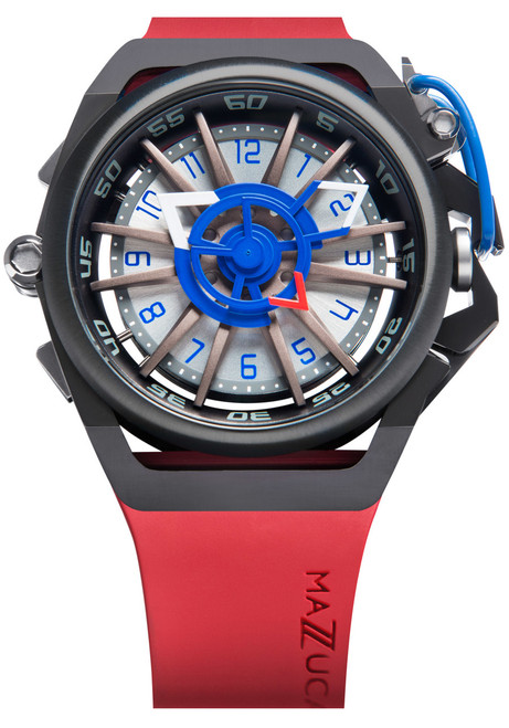 Mazzucato RIM Reversible Automatic Red Blue (RIM-07-RDCG6)