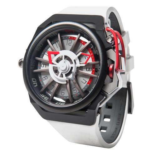 Mazzucato RIM Reversible Automatic White Black (RIM-13-WHCG10)