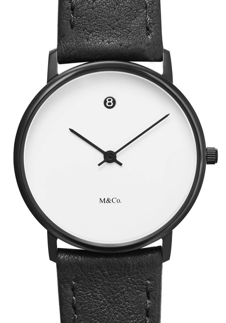 M&Co Date White Black (PJT-7409)