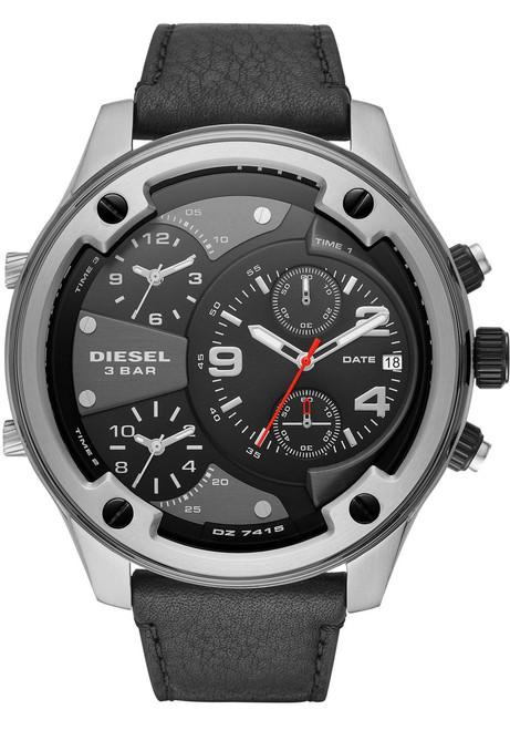Diesel Boltdown Chrono Black Silver (DZ7415)