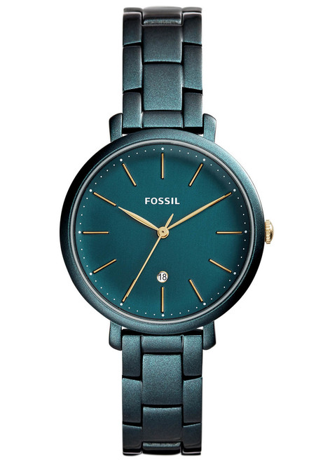Fossil ES4409 Jacqueline Teal Green Stainless Steel
