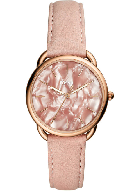 ecc883ee59f Fossil ES4419 Tailor Blush Leather | Watches.com