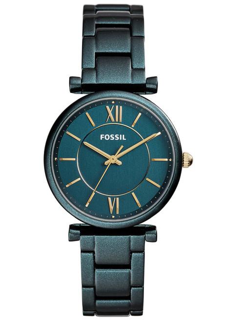 Fossil ES4427 Carlie Teal Green Stainless Steel