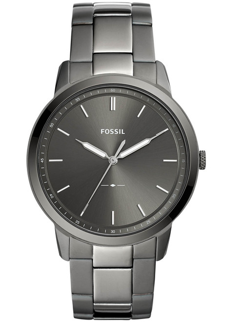 7ca95151873d Fossil FS5459 The Minimalist Smoke Stainless Steel
