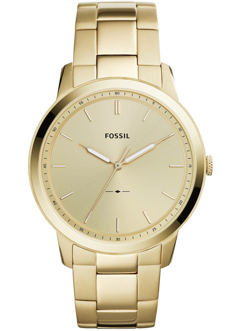 176497ccb561 Fossil FS5462 The Minimalist Gold Stainless Steel