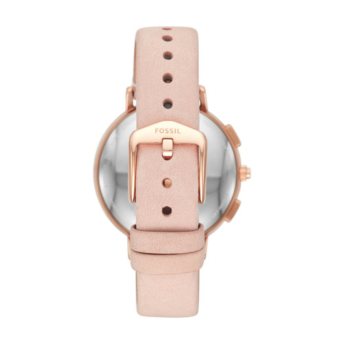 Fossil FTW5029 Hybrid Smartwatch Q Harper Blush Leather