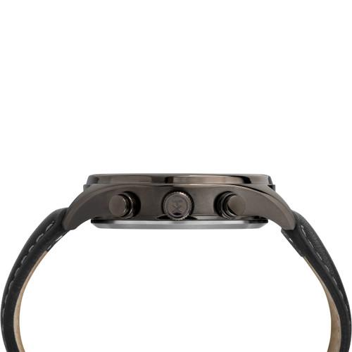 Timex Waterbury Traditional Chrono All Black Leather (TW2R88400)