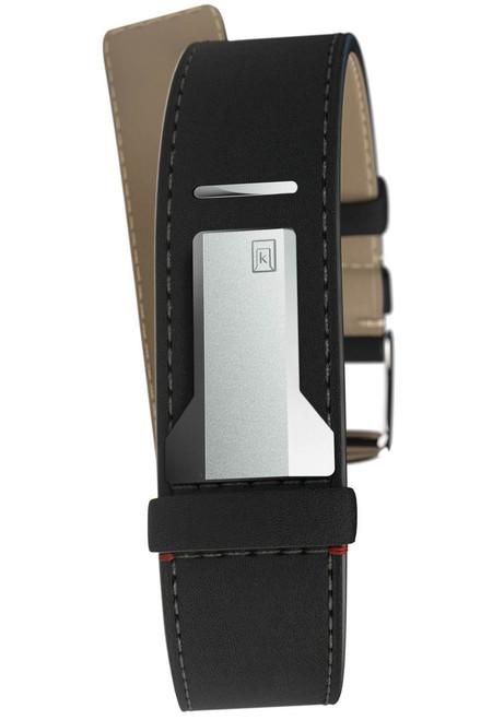 Klokers KLINK-04-SC2 18mm Matte Black Strap (KLINK-04-SC2)