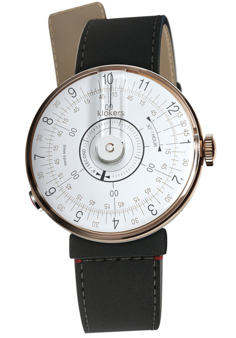 Klokers KLOK-08-D1 Rose Gold Matte Black (KLOK-08-D1-KLINK-04-SC2)