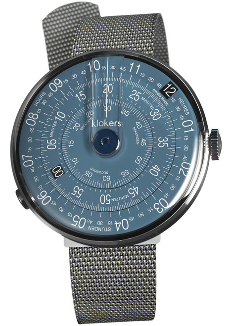 Klokers KLOK-01-D7 Midnight Blue Mesh (KLOK-01-D7-KLINK-05-MC1)