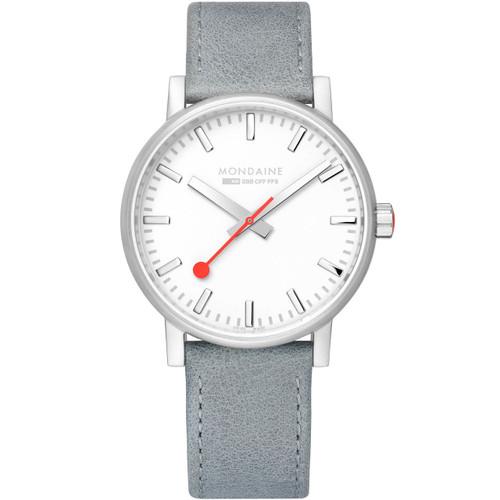 Mondaine evo2 Big Silver Grey (MSE-40110-LH)
