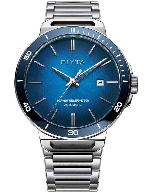 Fiyta Solo Automatic Blue Silver (GA852001-WLW)