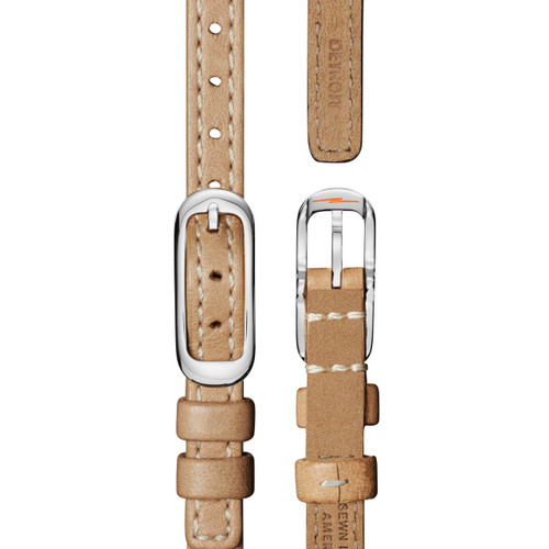 Shinola Birdy 34mm Silver Tan (S0120121836)