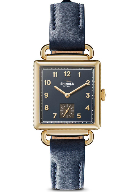 Shinola Cass 28mm Blue Gold (S0120109246)
