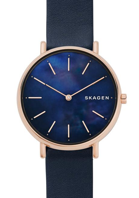 Skagen Signatur Slim Rose Gold Blue Mother of Pearl (SKW2731)