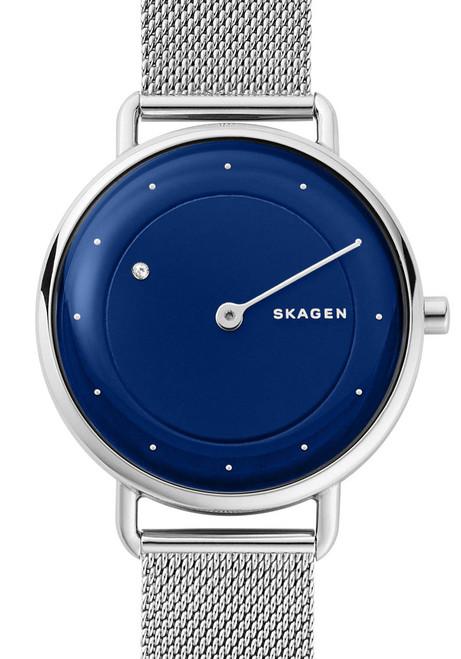 Skagen Horisont Special Edition Genuine Diamond Blue Silver Mesh (SKW2738)