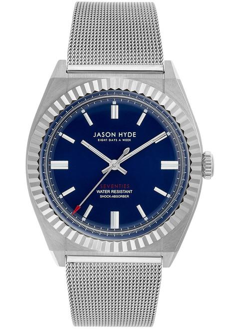 Jason Hyde UNO Silver Mesh Blue (JH10005)