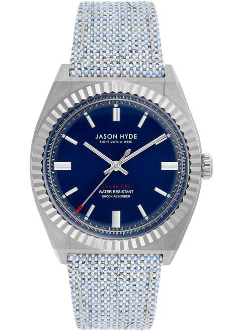 Jason Hyde UNO Silver Blue Organic Wool (JH10004)