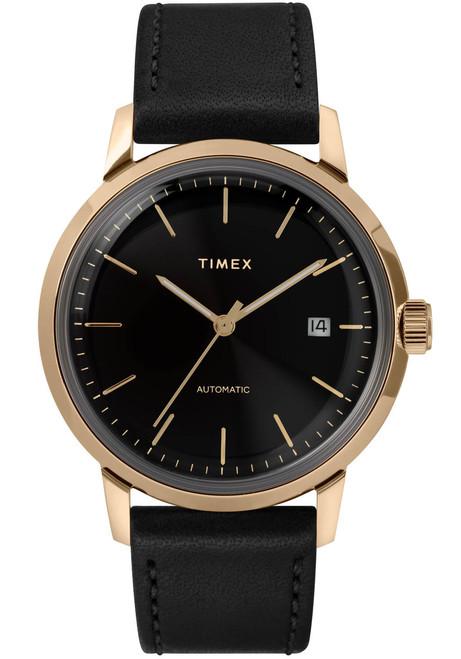 Timex Marlin 40mm Automatic Black Gold (TW2T22800)