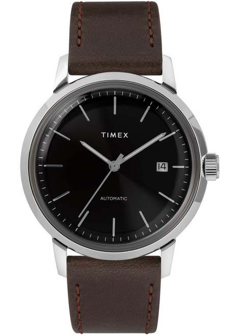 Timex Marlin 40mm Automatic Brown Black (TW2T23000)