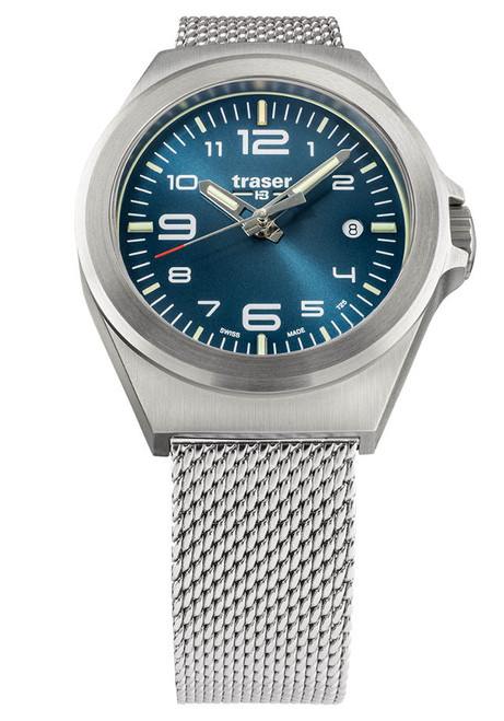 Traser P59 Essential S Blue Silver (108203)