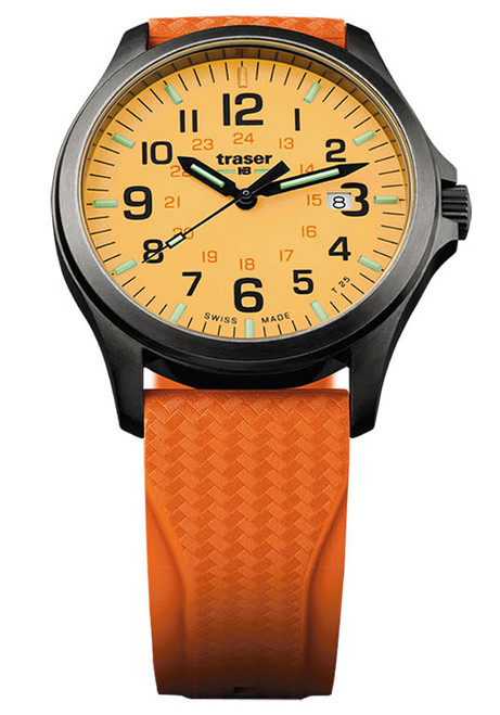 Traser P67 Officer Pro GunMetal Orange (107423)