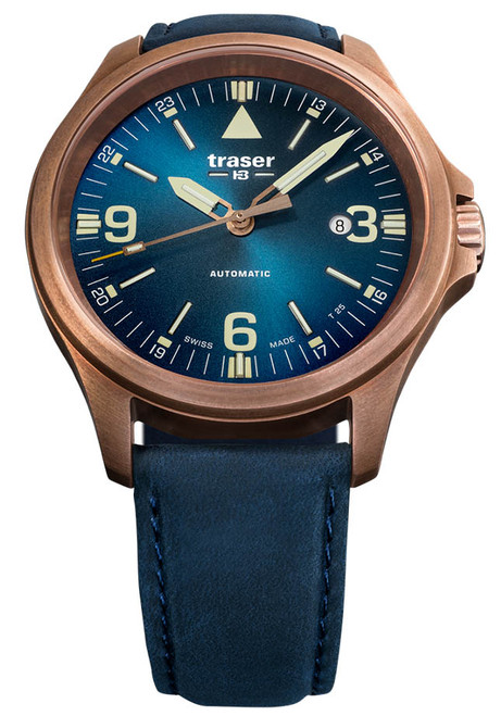 2d9024717a0 Traser P67 Officer Automatic Bronze Blue (108074) ...