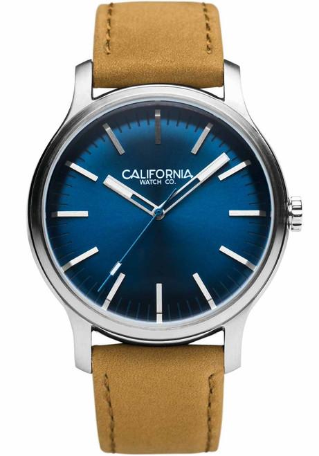 California Watch Co. Laguna Leather Sand Navy (LGM-1171-12L)
