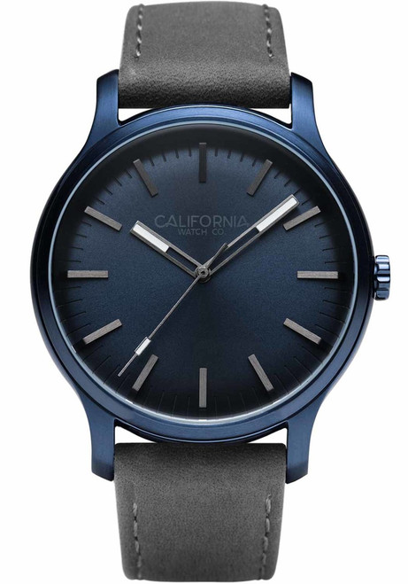 California Watch Co. Laguna Leather Deep Blue Gray (LGM-7772-11L)
