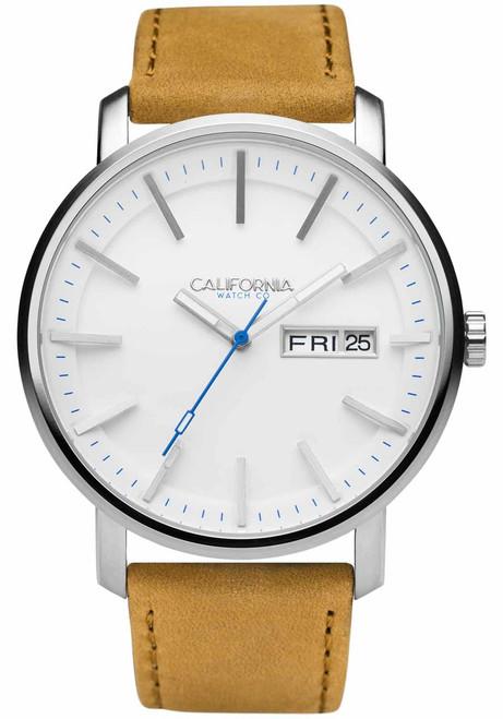 California Watch Co. Mojave Leather Sand White (MJV-1101-12L)