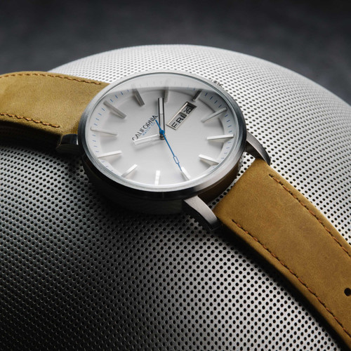 California Watch Co. Mojave Leather Sand White (MJV-1101-12L)