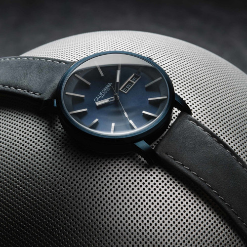 California Watch Co. Mojave Leather Deep Blue Gray (MJV-7772-11L)